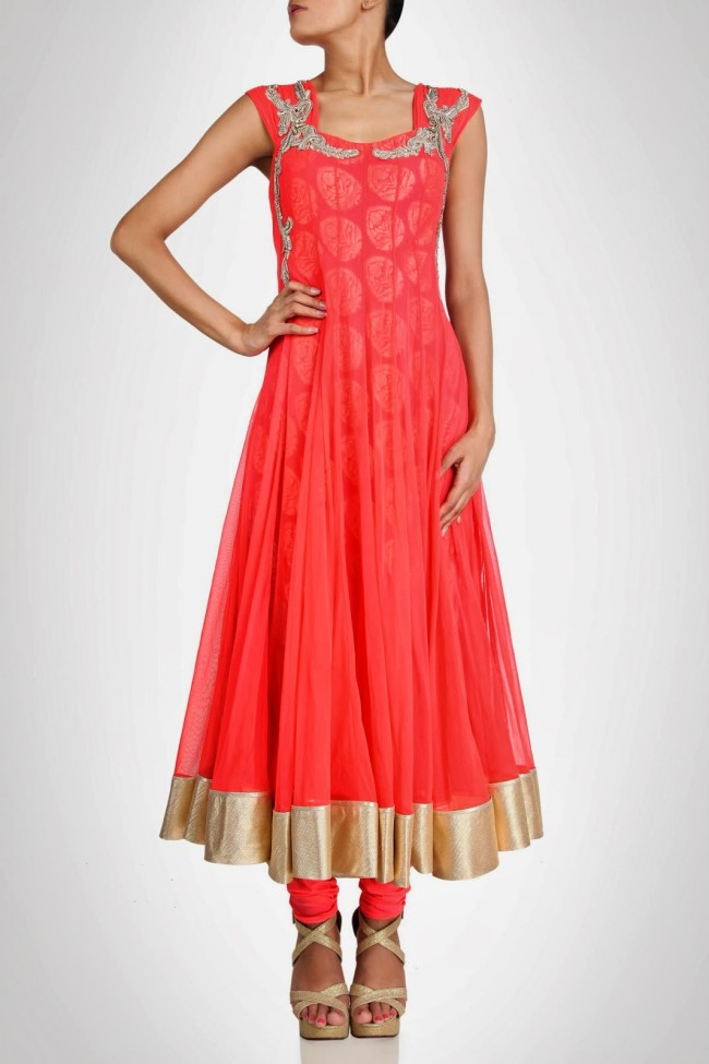 Amazing-Style-Designer-Wedding-Anarkali-Churidar-Frock-And-Sarees-Dress-by-Gaurav-Gupta-6
