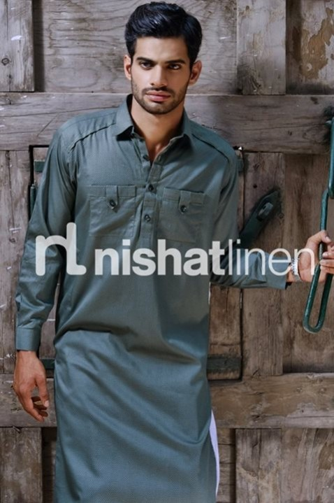 Mens-Gents-Wear-New-Fashion-Winter-Autumn-Kurta-Shalwar-Kameez-by-Naqsh-Nishat-Linen-2