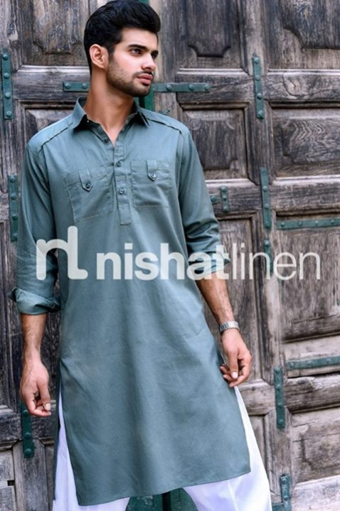 Mens-Gents-Wear-New-Fashion-Winter-Autumn-Kurta-Shalwar-Kameez-by-Naqsh-Nishat-Linen-3