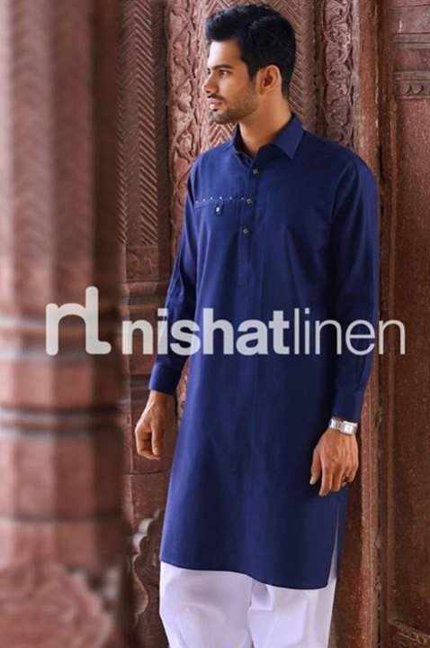 Mens-Gents-Wear-New-Fashion-Winter-Autumn-Kurta-Shalwar-Kameez-by-Naqsh-Nishat-Linen-4