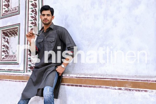 Mens-Gents-Wear-New-Fashion-Winter-Autumn-Kurta-Shalwar-Kameez-by-Naqsh-Nishat-Linen-6