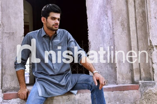 Mens-Gents-Wear-New-Fashion-Winter-Autumn-Kurta-Shalwar-Kameez-by-Naqsh-Nishat-Linen-8