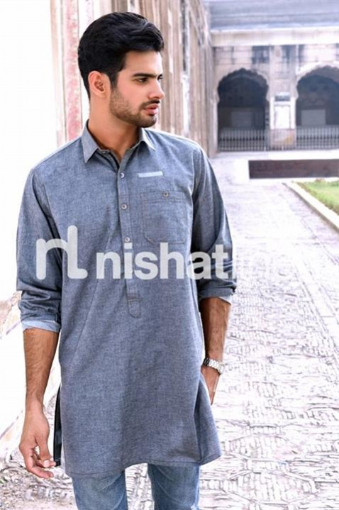 Mens-Gents-Wear-New-Fashion-Winter-Autumn-Kurta-Shalwar-Kameez-by-Naqsh-Nishat-Linen-9