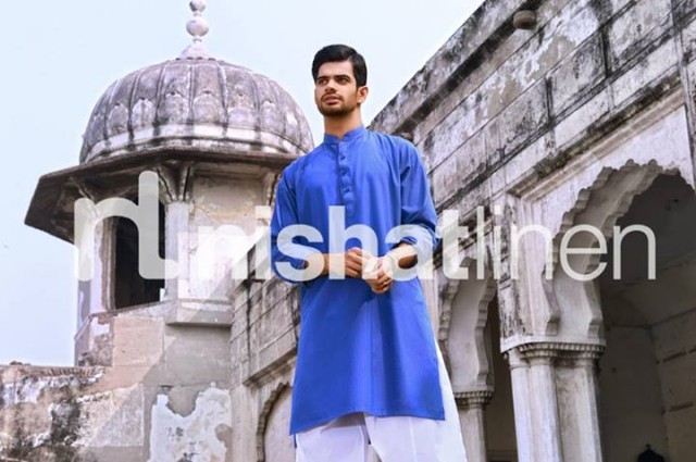 Mens-Gents-Wear-New-Fashion-Winter-Autumn-Kurta-Shalwar-Kameez-by-Naqsh-Nishat-Linen-