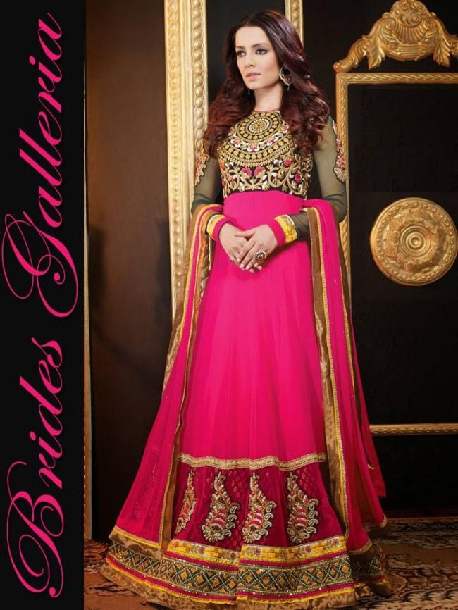 Designer Anarkali Frocks Suits New Fashion Dress by Brides Galleria-6