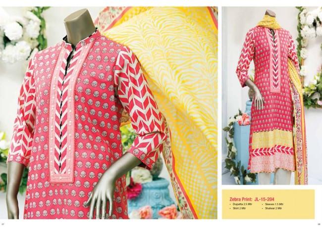 Junaid Jamshed Stylish Spring-Summer Wear New Fashionable Kurti Dress for Girls-Women-5