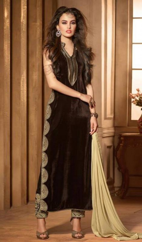 Excellent Night-Evening-Casual Party Wear Latest Fashionable Dress by Kaneesha-2