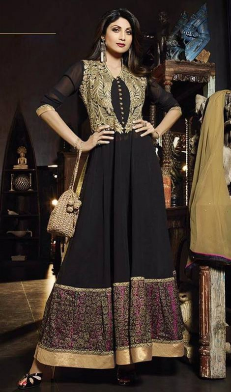 Excellent Night-Evening-Casual Party Wear Latest Fashionable Dress by Kaneesha-6