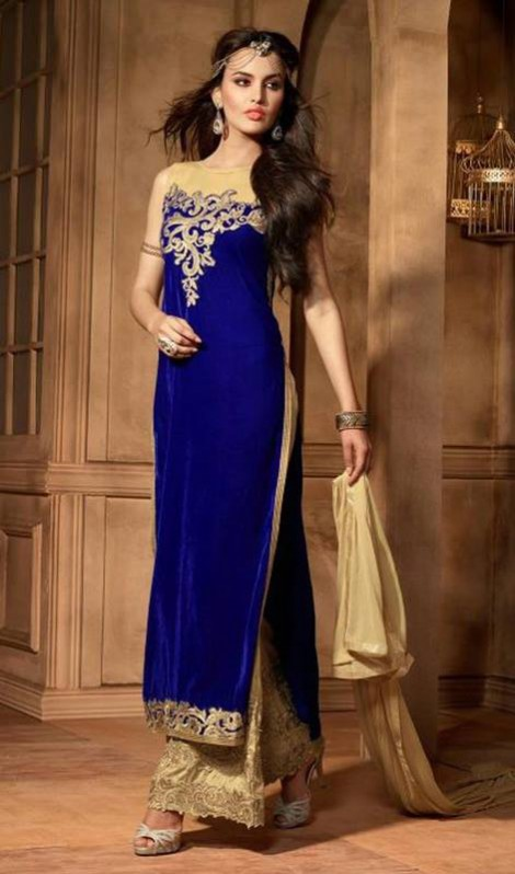 Excellent Night-Evening-Casual Party Wear Latest Fashionable Dress by Kaneesha-