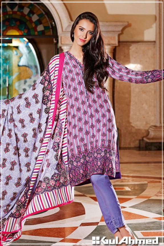 Girls-Women Winter Wear Latest Dress Catalogue by Gul Ahmed-6